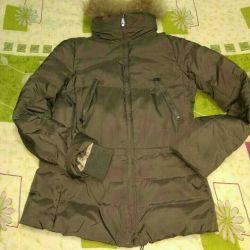Κάτω σακάκι με φυσικό γούνα, εταιρία μεγέθους zolla 4