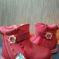 Детские новые сапожки для девочек
