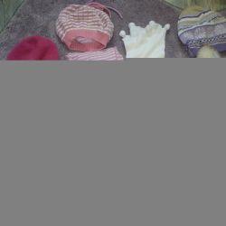 Шапки, варежки 3-5 лет