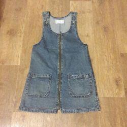 Jeans sarafan. XXS