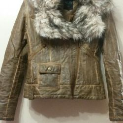 Jacket made of leather.New.42-44 size