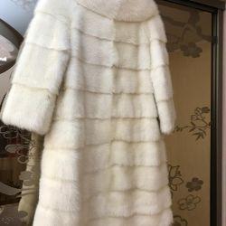 Mink cross coat
