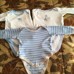 Matercare corp 6-9 luni 3 bucăți