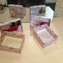 Box for mom and grandmother.