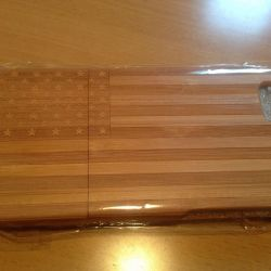 Чехол деревянный iPhone 6 Америка