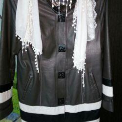 Leather coat, 48-50 size, Turkey