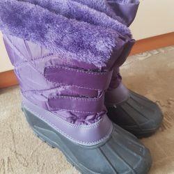 New snowboots