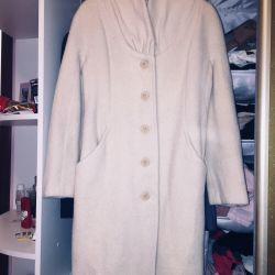 Coat warm, wool