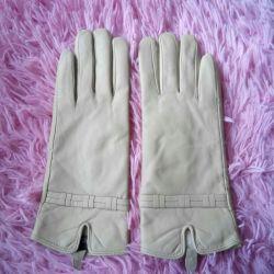 Mănuși din piele noi