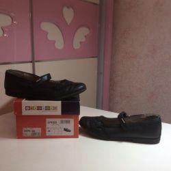 Kız için okul ayakkabıları deri s.34 (İspanya)
