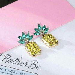 Earrings Pineapples