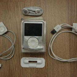 iPod Nano 8Gb 3rd generation silver