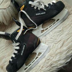 Παγοπέδιλα χόκεϊ BAUER, μέγεθος 32