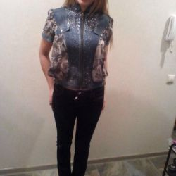 Jeans, a blouse new