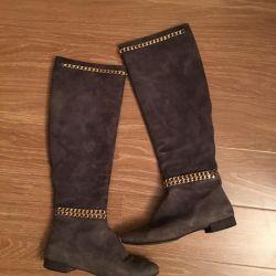 Italian suede boots original