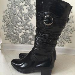 Нові чоботи зимові натуральні
