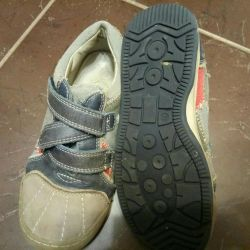 Sneakers leather-sneakers 32 solution, insole 20 cm
