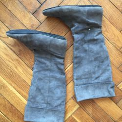 Rockport boots genuine leather (suede)