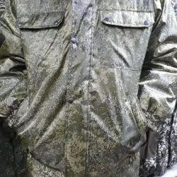 Куртка зимняя цифра зелена