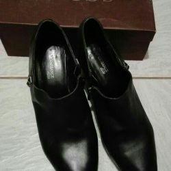 Ayak bileği botları (doğal deri, değişim mümkündür), p40