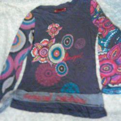7-8 yaş arası bir kız için bluz serin Gloria