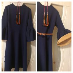 Sıradışı bir kesim elbise