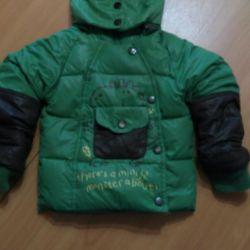 Warm jacket for boy