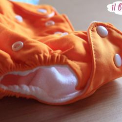 Reusable nappies. Panties for schooling