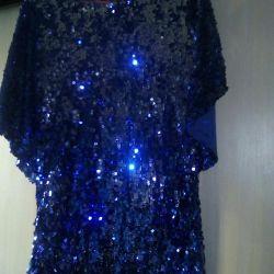 Dress tunic sequins