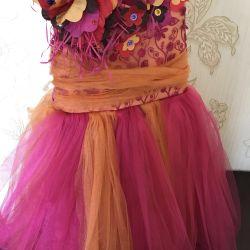 Elegant children's dress 3-5
