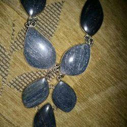 Natural aventurine necklace