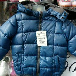 Jacheta este una nouă de iarnă.
