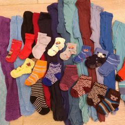Tights and socks