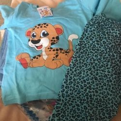 Πιτζάμες του νέου αγοριού