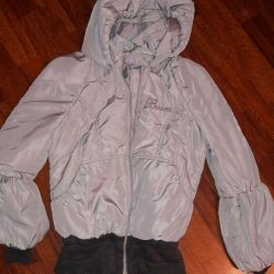 Kız Orbi Boom için ceket, gri, kullanılmış, 146-152