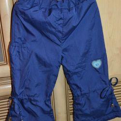 Σκούρο μπλε παντελόνι της Μπολόνια