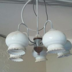 Urgently used chandelier