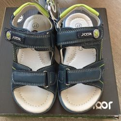 New sandals for a boy urgently