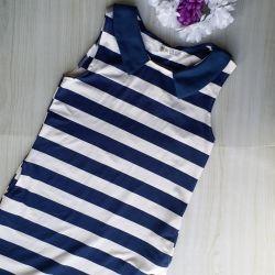 Ριγέ φόρεμα νέα στο 44