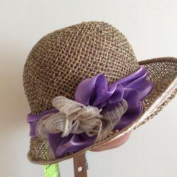 Шляпка загадка, арт 004, размер 55-57