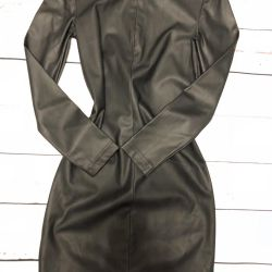 Eco-leather dress ideally