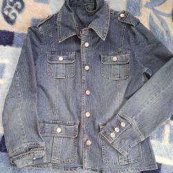 Jacheta jachetă denim
