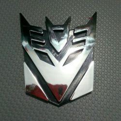 3D стикер для автомобиля.Трансформеры.Обмен!!!