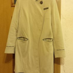 Μπεζ Coat