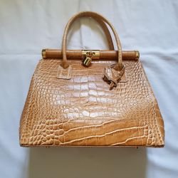 Bag Italy new leather natural