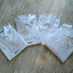 Новые форменные рубашки, разных размеров