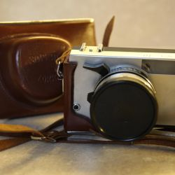 Zorki 10 camera with Industar-63 lens