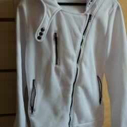 Beyaz sweatshirt yeni