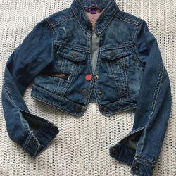 Mexx denim jacket-bolero on girl r. 116