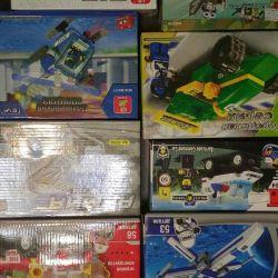Tasarımcı analog lego stokta